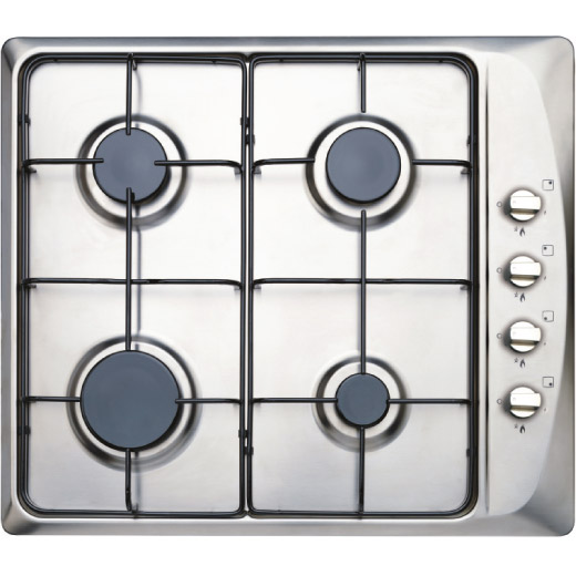 60cm Stainless Steel Gas Hob