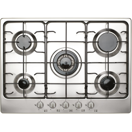 Prima 70cm Stainless Steel Gas Hob