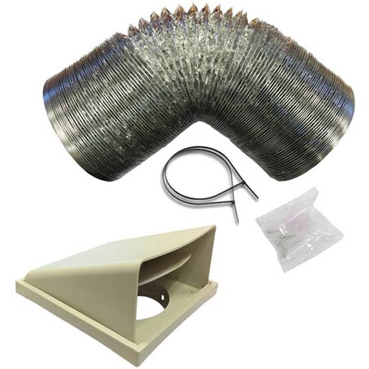 125/150mm Stainless Steel Ducting Kit