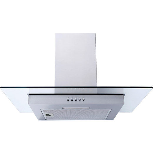 Prima 60cm Stainless Steel Flat Glass Hood
