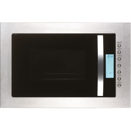 Built-in Stainless Steel Frameless Microwave and Grill