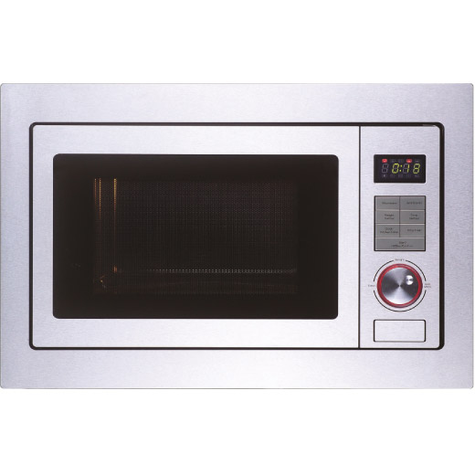 Built-in Stainless Steel Framed Microwave and Grill