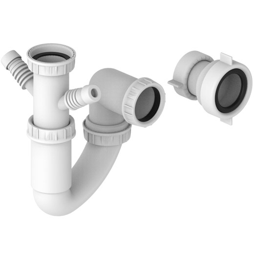 Single Bowl Plumbing Kit