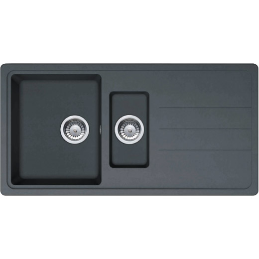 Prima 1.5 Bowl Composite Sink Black