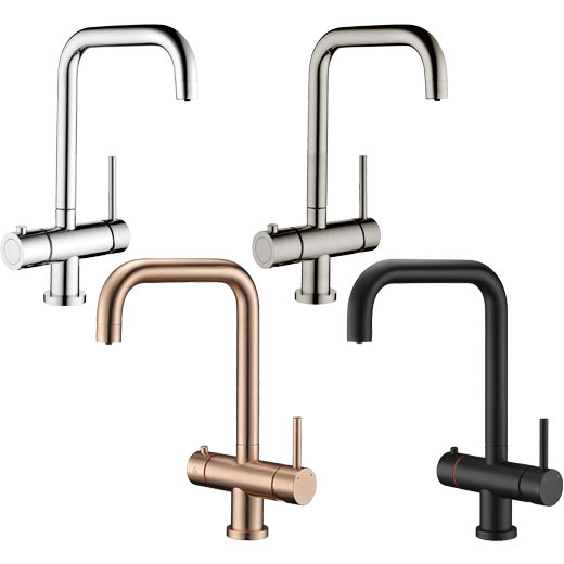 Prima+ 3 in 1 Hot Tap Chrome & Brushed Steel